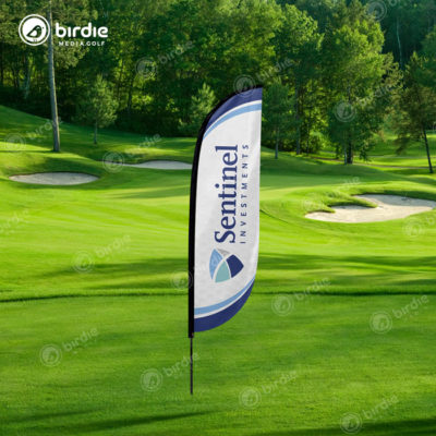 Golf Event Feather Flag (10')