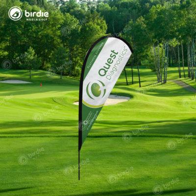 Golf Event Teardrop Flag (11')