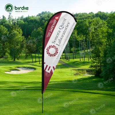Golf Event Teardrop Flag (14')