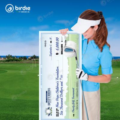 3' Golf Check