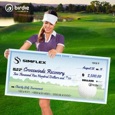 4' Golf Check