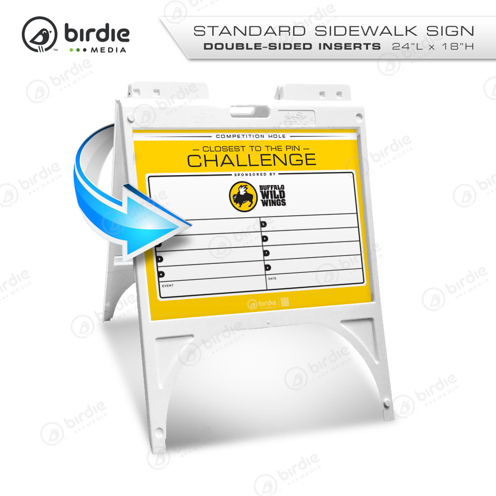 » Standard A-Frame Sidewalk Sign