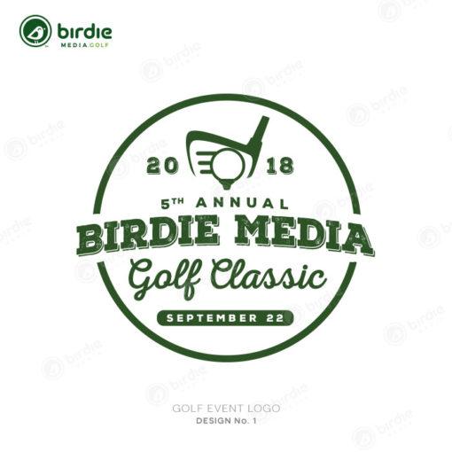 Golf Event Logo Design 1