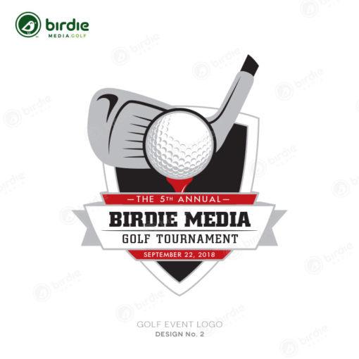 Golf Event Logo Design 2