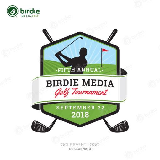 Golf Event Logo Design 3