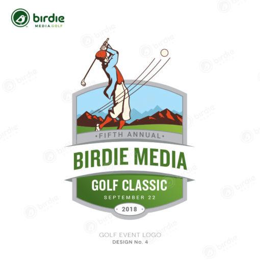 Golf Event Logo Design 4