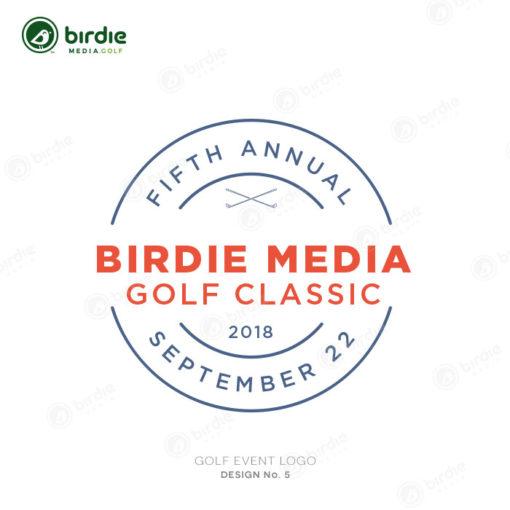 Golf Event Logo Design 5
