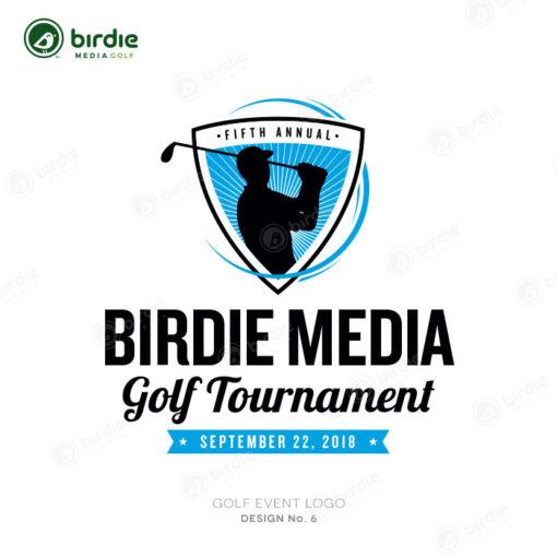 Golf Event Logo Design 6