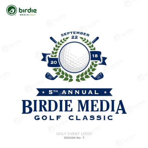 Golf Event Logo Design 7