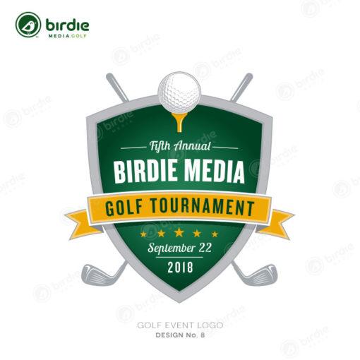 Golf Event Logo Design 8