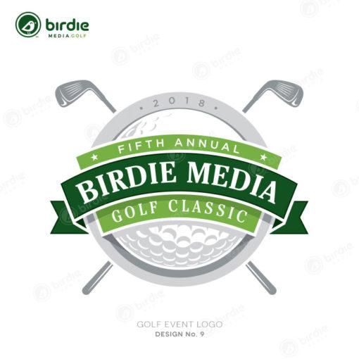 Golf Event Logo Design 9