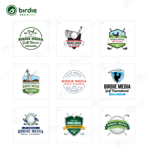 Golf Event Logo Designs
