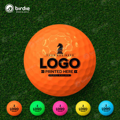 Colored Logo Golf Balls