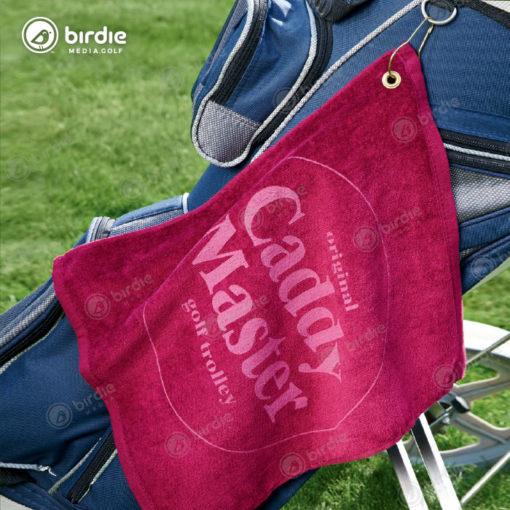 2-Color Cotton Golf Towels