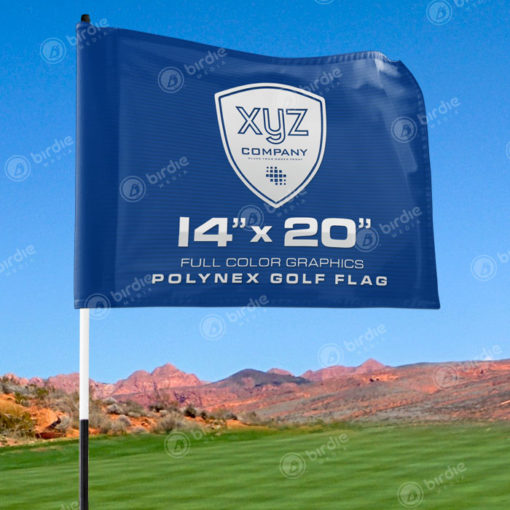 Custom Logo Golf Flag