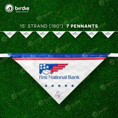 Pennant Flags Banner (15')