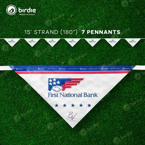 Pennant Flags Banner (15')