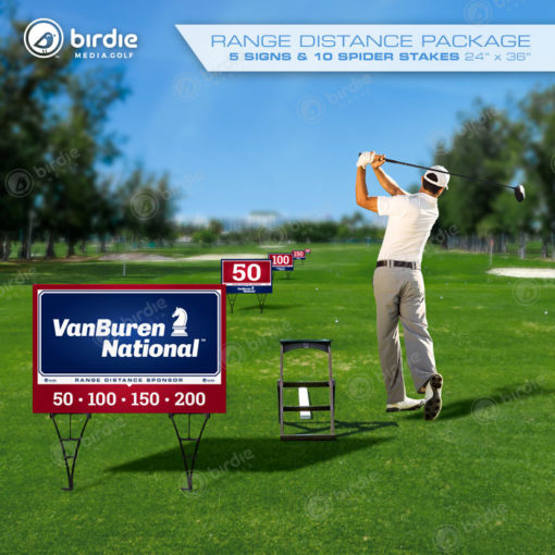 Range Distance Package (5 Signs)