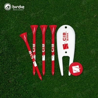 Birdie Tees, Divot & Marker Combo Kit