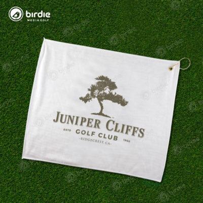 Poly Blend Golf Towel (White)
