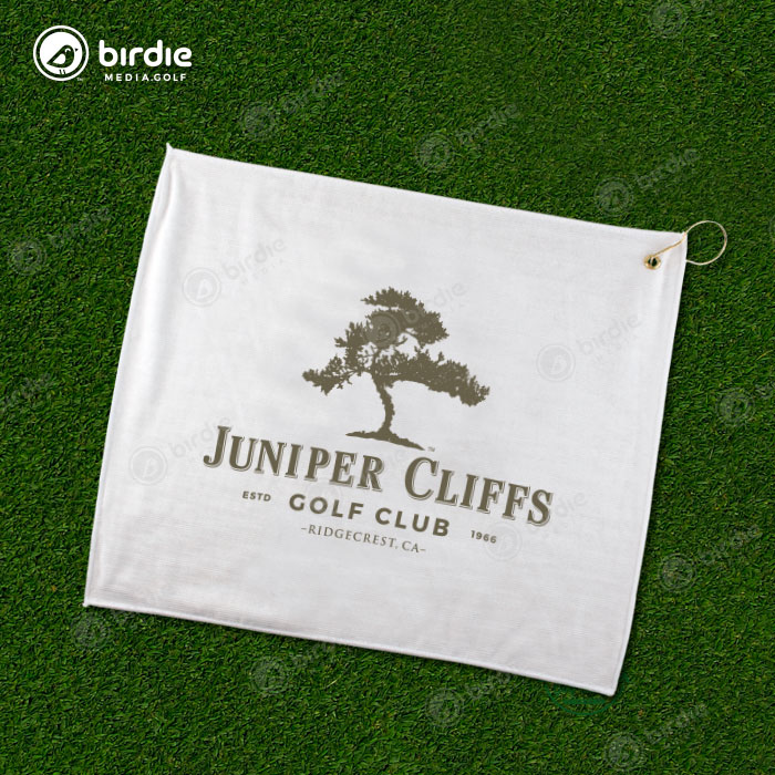 Poly Blend Golf Towel