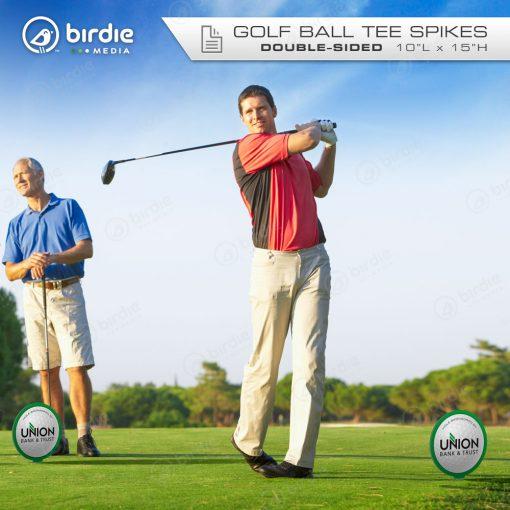 Golf Ball Tee Spikes