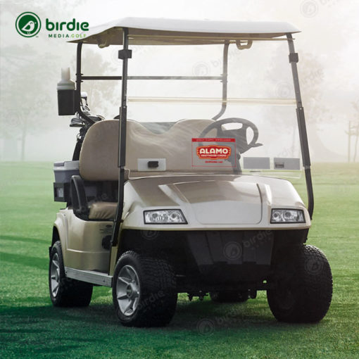 "Golf Cart Windshield Cling (8""x12"")"