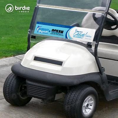 """Golf Cart Windshield Decals (6""""x30"""")"""
