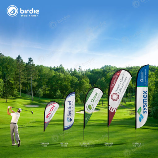 Golf Event Sponsor Flags