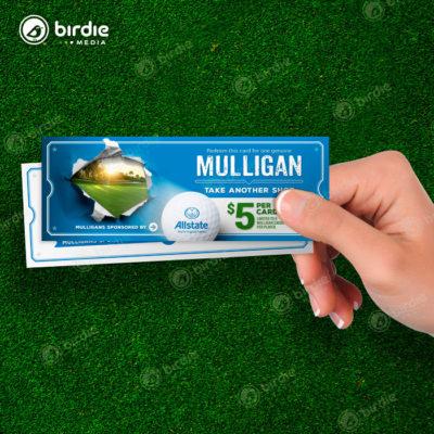 Golf Event Mulligan Tickets