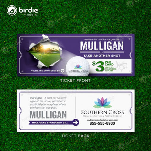 Golf Event Mulligan Tickets