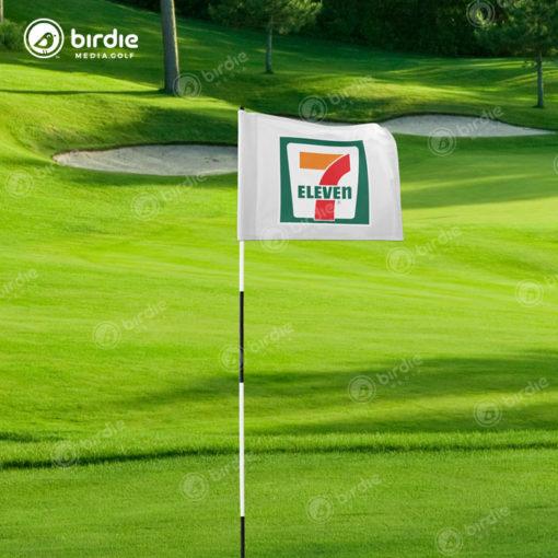 Golf Sponsor Logo Flags