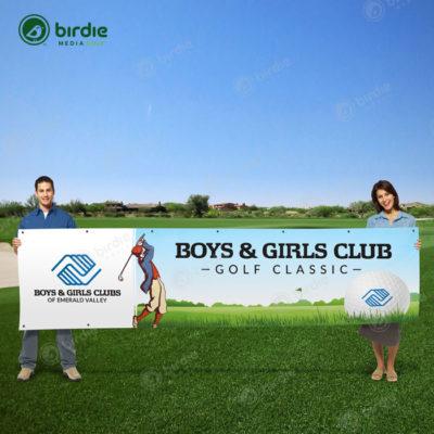 Vinyl Golf Banner (3x12)