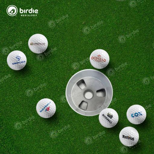 Logo Golf Balls