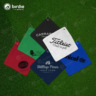 Microfiber Logo Golf Towels