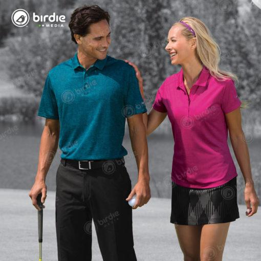 Nike® Golf Dri-FIT Crosshatch Polo