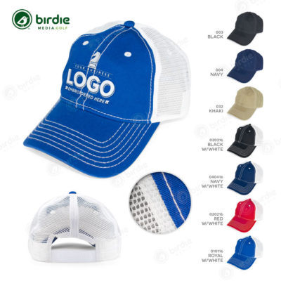 Low Profile Mesh Back Cap